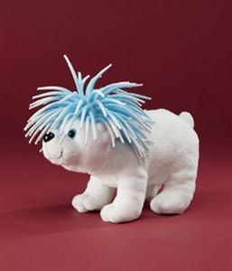 "Zibbies Polar Bear ""Candice"" from Play Visions - AardvarksToZebras.com"
