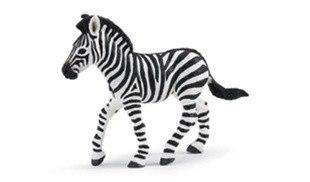 Wild Safari® Jungle Plains Zebra Foal Figure from Safari