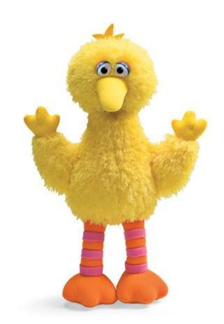 Big Bird Medium Plush from Sesame Street® by Gund® - AardvarksToZebras.com