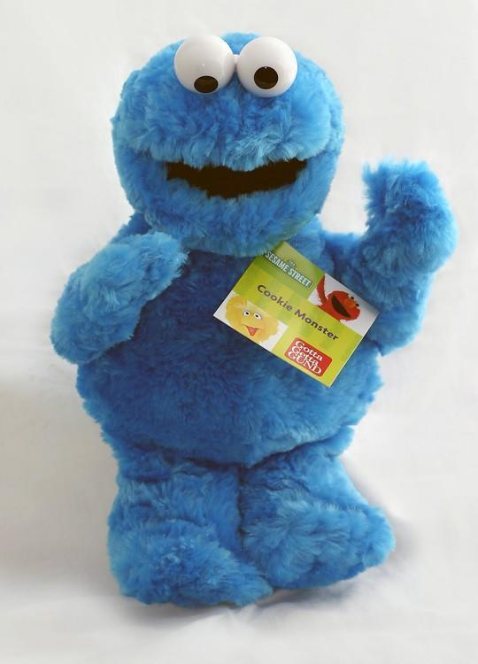 Cookie Monster from Sesame Street® by Gund® - AardvarksToZebras.com