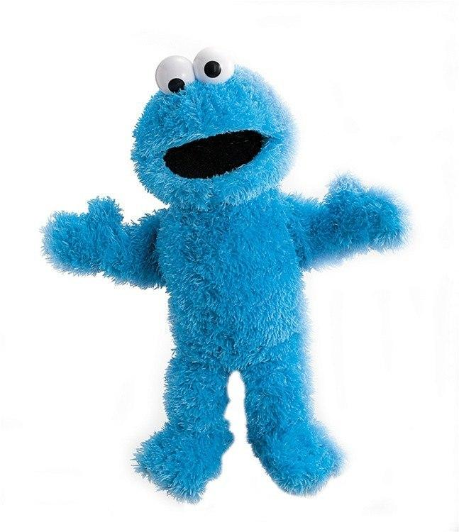 Cookie Monster Full Body Hand Puppet from Sesame Street® by Gund® - AardvarksToZebras.com