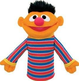 Ernie Puppet, 10 in. from Sesame Street® by Gund®