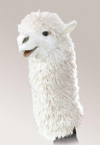 Alpaca Stage Puppet from Folkmanis Puppets