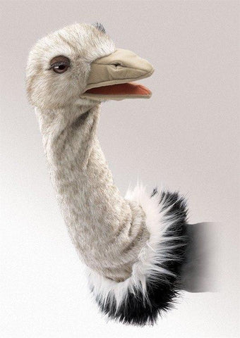 Ostrich Stage Puppet from Folkmanis Puppets