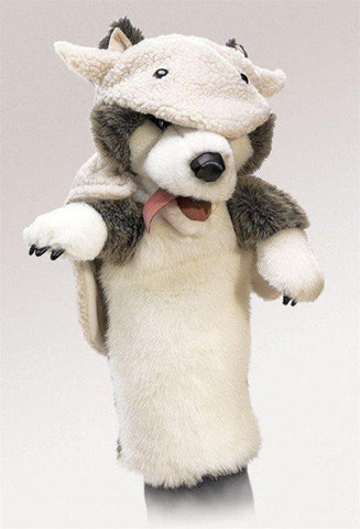 Wolf in Sheep's Clothing Stage Puppet from Folkmanis Puppets
