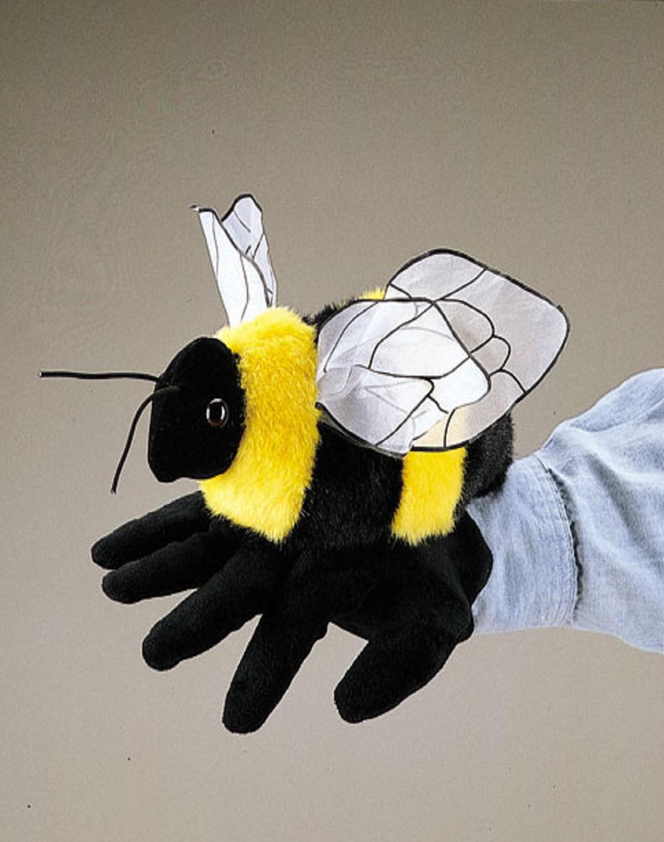 Bee Hand Puppet from Folkmanis Puppets