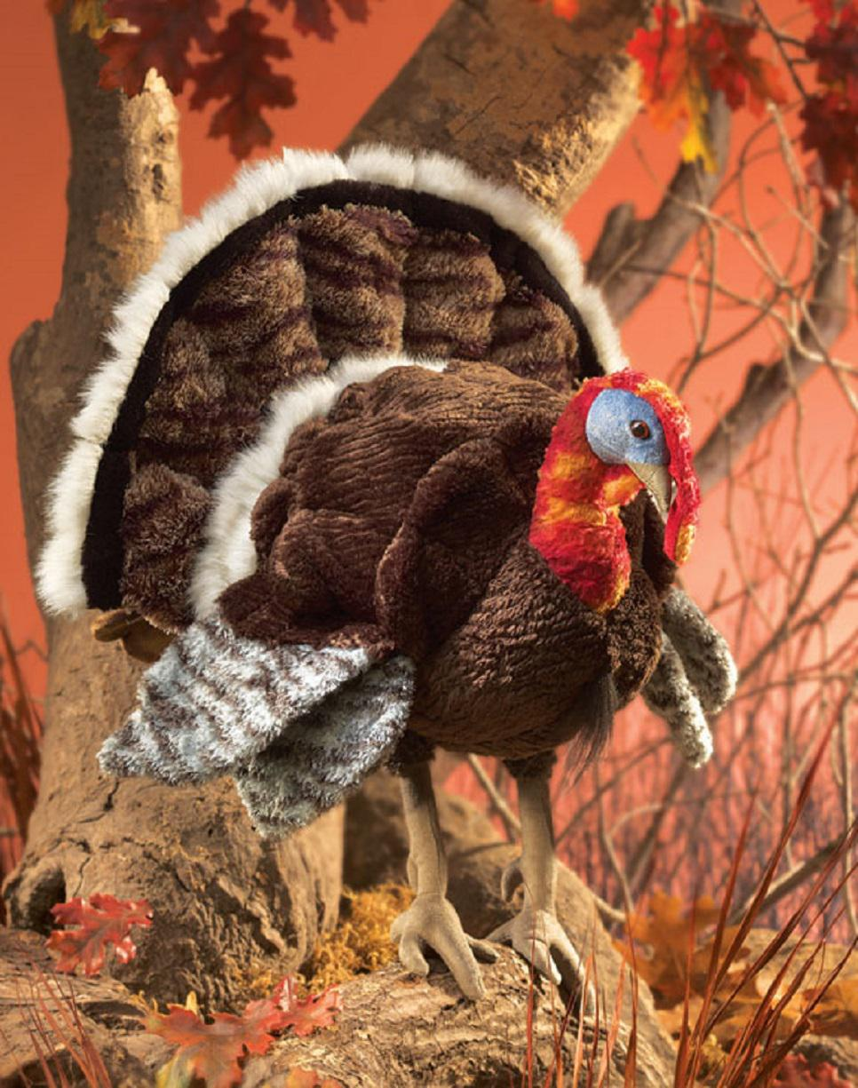 Small Turkey Hand Puppet from Folkmanis Puppets