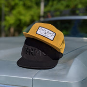 Grandpa Snapback - Wheat with White Name Patch