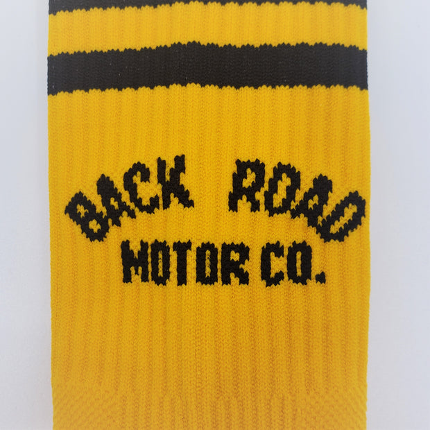 BRMCo Yellow Socks
