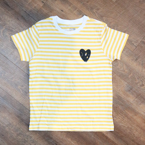 Victoria Striped Retro Tee