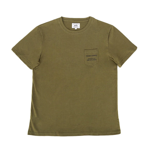 Prism Flatbed Tee - OD Green