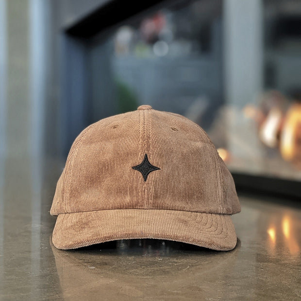 Dad Hat Corduroy - Brown