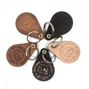 BRMCo Handmade Leather Keychains - Drops