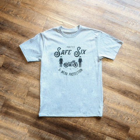 Safe Six Tee - Grey