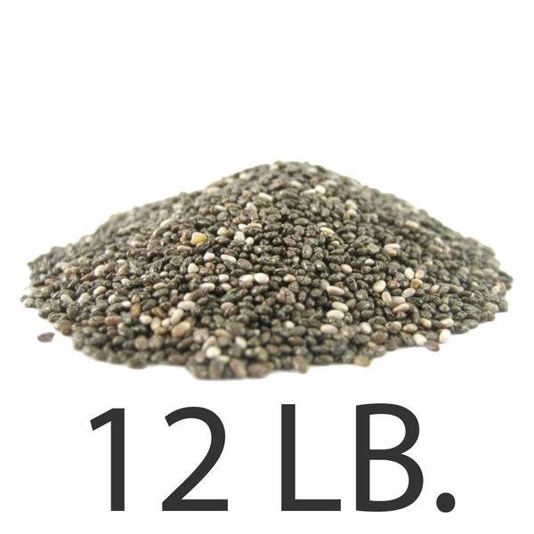 12lbs. Imported Chia Seeds from USChia.com