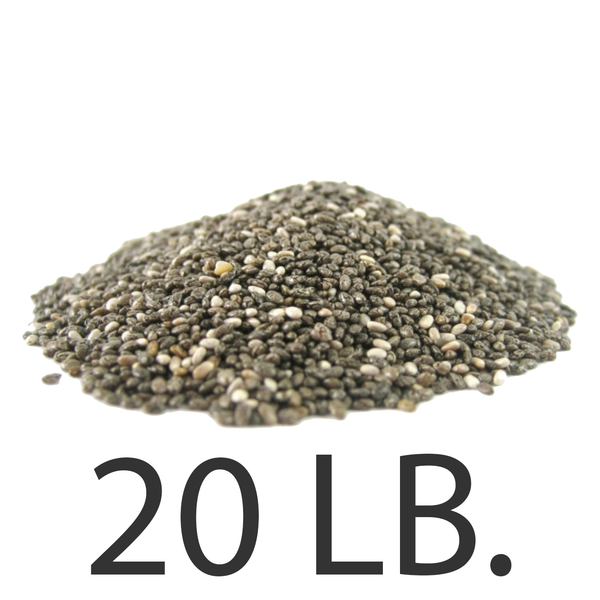 Chia Seeds, 20 lbs., Free Shipping!