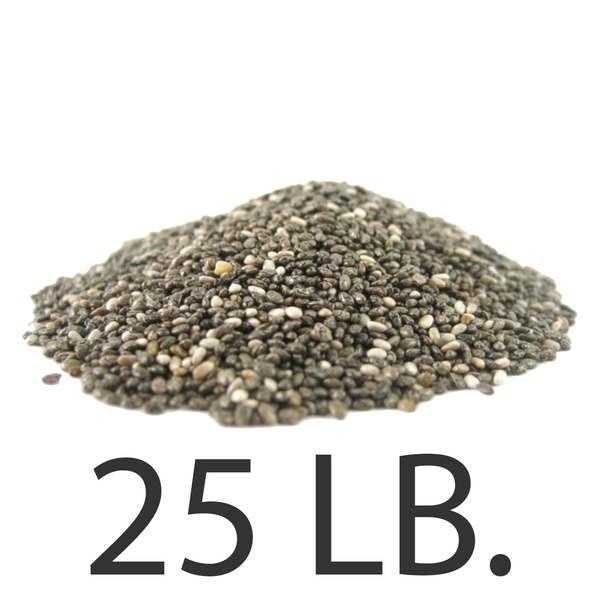 Chia Seeds, 25 lbs., Free Shipping!
