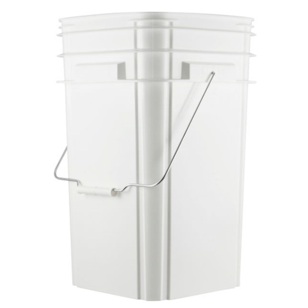 Optional 5 Gallon Bucket with Resealable Lid