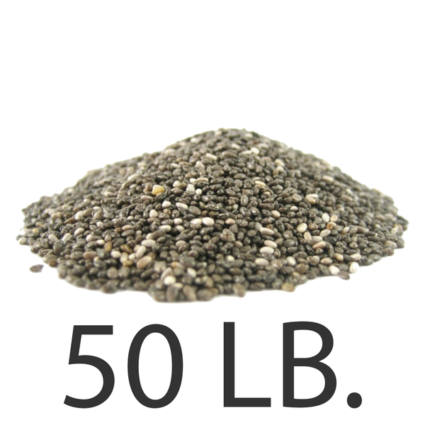Chia Seeds, 50 lbs., Free Shipping!