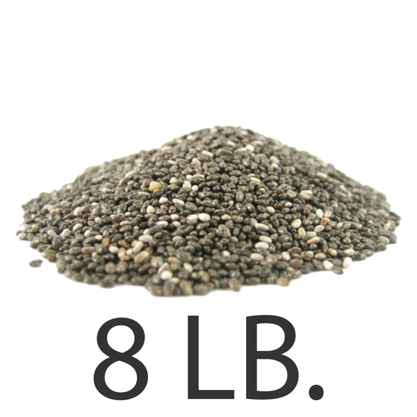 8lbs. Imported Chia Seeds from USChia.com