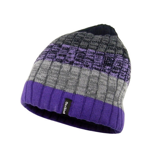 DexShell® Windproof & Breathable Gradient Beanie Style Waterproof Hats In Purple, Blue, Orange & Pink