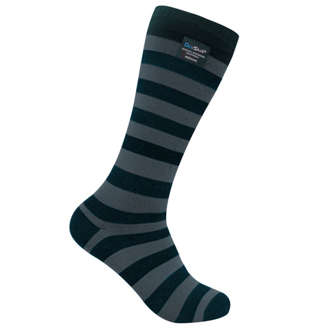 DexShell® LongLite Bamboo Inner Lined Overcalf Waterproof Sock With Integral Cuff Band Seal | Click To See All Colors