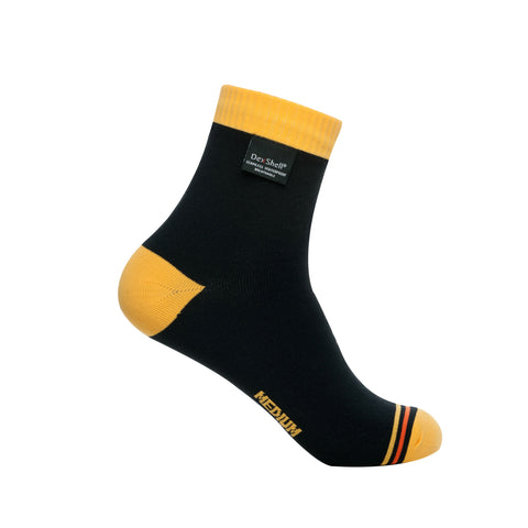DexShell® Breathable Ultralite Mustard Yellow Accent Waterproof Socks | CLEARANCE