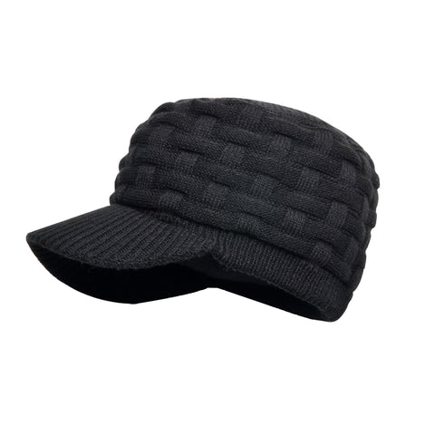 DexShell® Waterproof, Windproof & Breathable Peaked Hat Available in Black or Grey