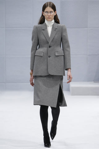 Covet and Lou— Hello Mr. Hoffman: Runway Wrap Up— Balenciaga Fall 2016, Skirt Suit