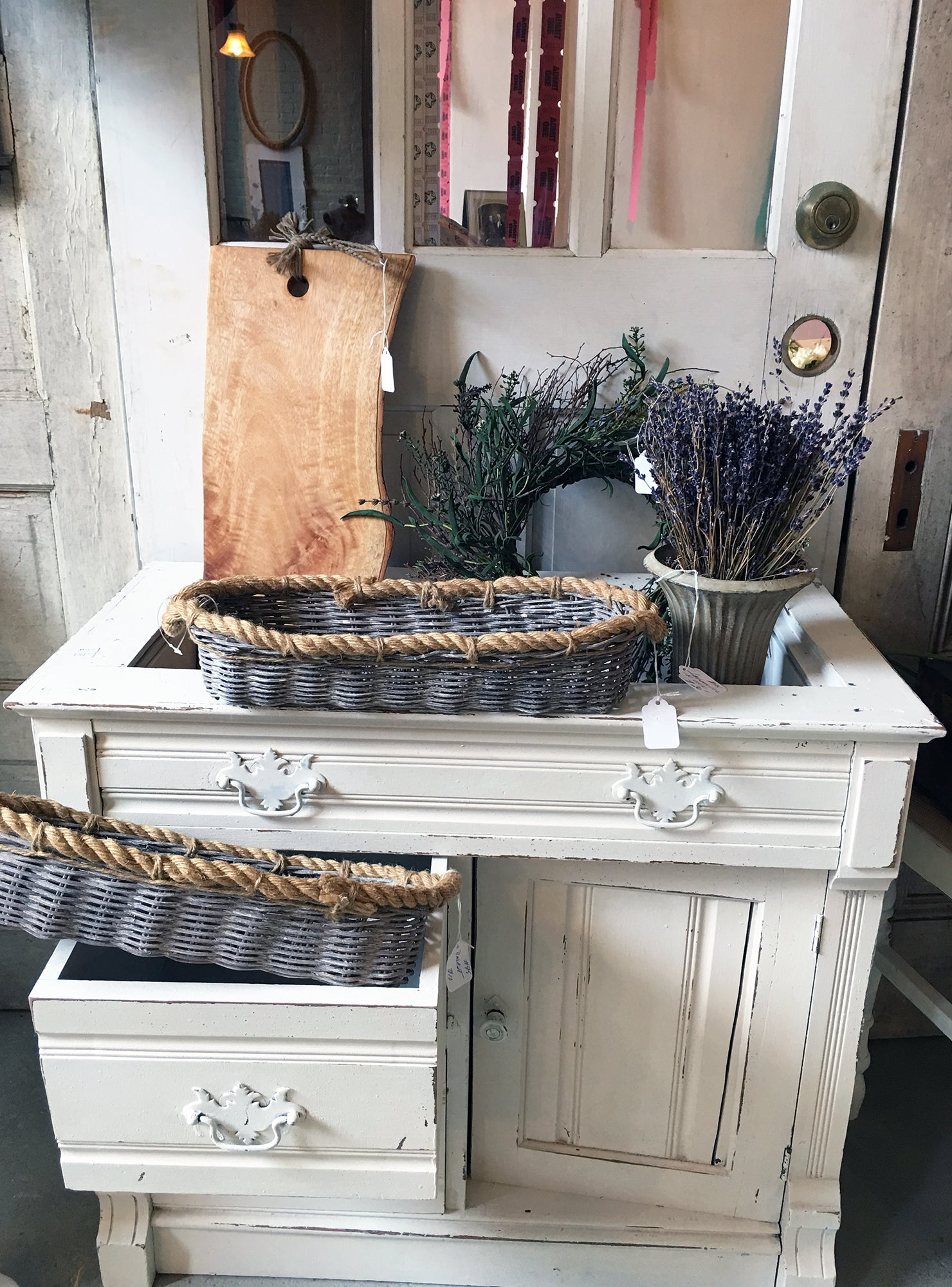 Covet and Lou—The Rambler: Crompton—Dresser Display