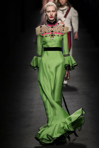 Covet and Lou— Hello Mr. Hoffman: Runway Wrap Up— Julia Nobis, Gucci Fall 2016