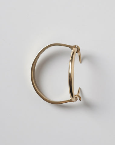 Infinite Tusk Reloaded Cuff in Yellow Gold