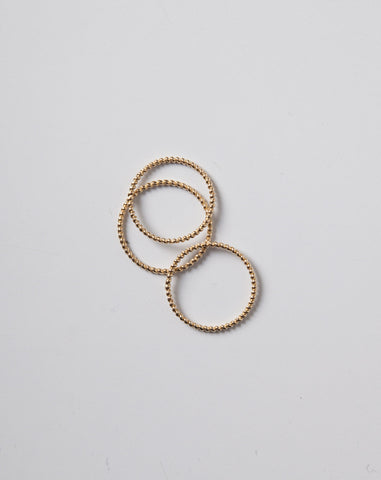 Rope Ring in Yellow Gold