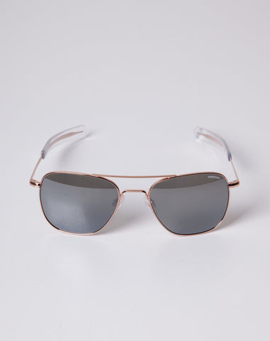 Aviator in Rose Gold