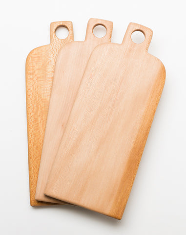 Small Handle Board in Sycamore