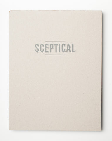 Sceptical Mood Notebook