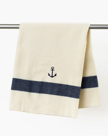 Baby Anchor Blanket