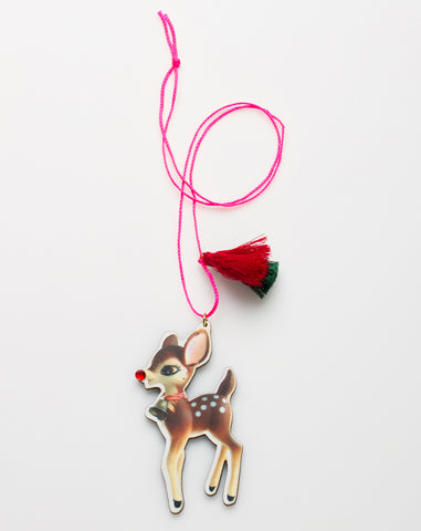 Holiday Necklace Fawn