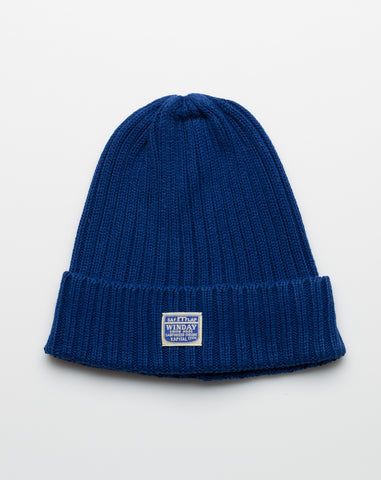 IDG Knit Cap in Indigo