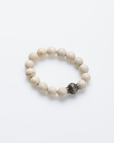 Essentials Bracelet in Fossil Agate
