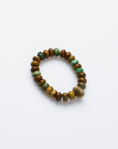 Essentials Bracelet in Green Turquoise