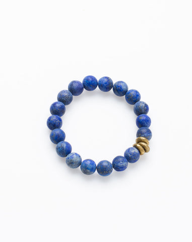 Essentials Bracelet in Lapis