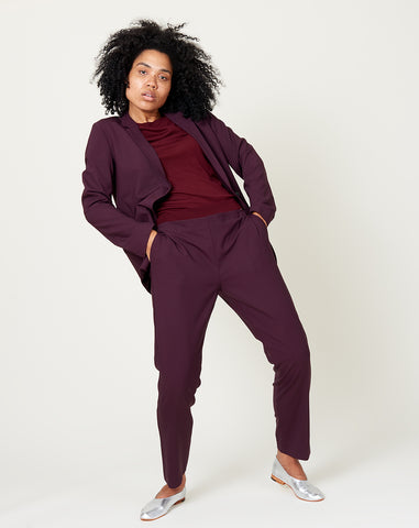 Perfect Blazer in Dark Purple