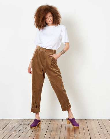 Painter Corduroy Trouser in Tobacco