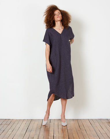T-Shirt Reversible Maxi in Slate Gray