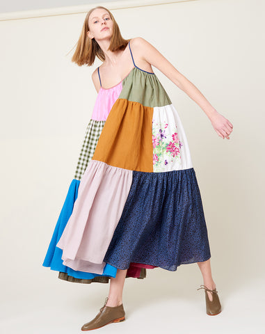 Colorful Patchwork Dress | Size 1