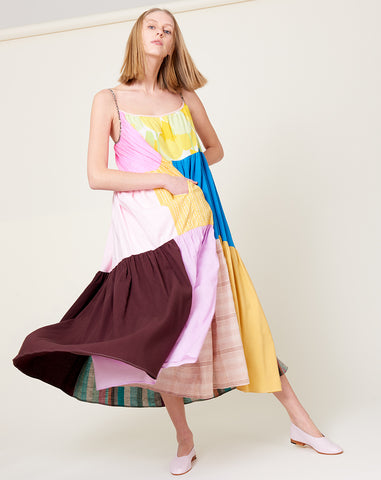 Colorful Patchwork Dress | Size 3