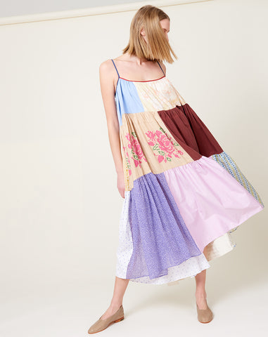 Colorful Patchwork Dress | Size 2