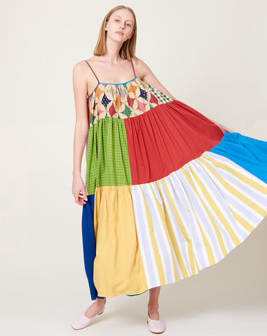 Colorful Patchwork Dress | Size 0