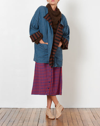Blanket Coat in Outlaw and Promenade